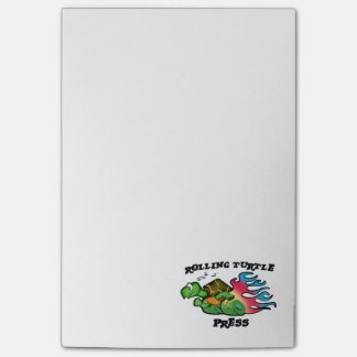 Rolling Turtle Press Notepad