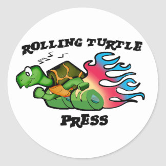 Rolling Turtle Press Stickers