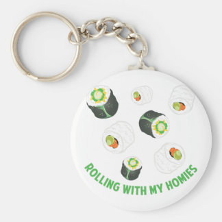 Rolling With Homies Key Ring