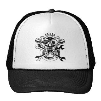 RollingBonez IV - Mad Mechanix Mesh Hat