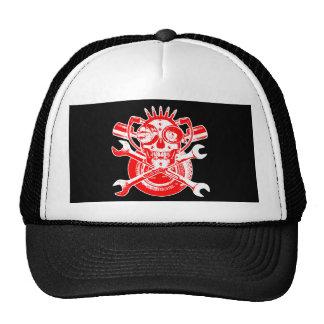 RollingBonezIV - Maniak Mechanix Mesh Hat
