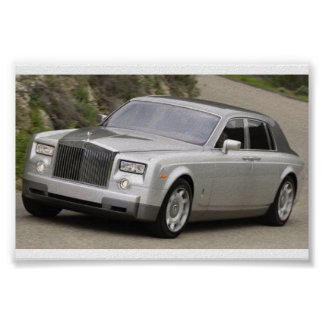 Rolls Royce Phantom Poster