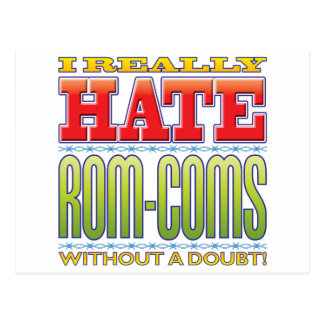 Rom-Coms Hate Postcard