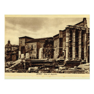 Roma,Forum of Augustus Postcard
