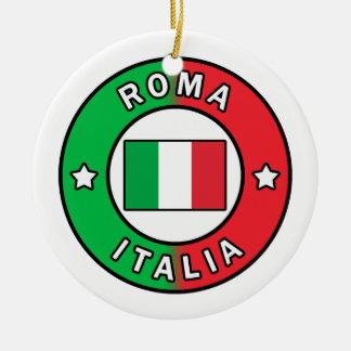 Roma Italia Ceramic Ornament