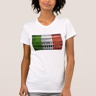 Roma Italia Flag Coliseum Shirts
