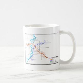 Roma Metro Map Coffee Mug