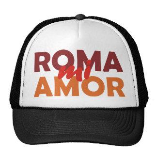 Roma mi amor Rome my love rome my love Mesh Hat