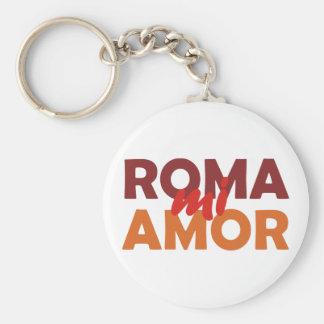 Roma mi amor Rome my love rome my love Key Chains