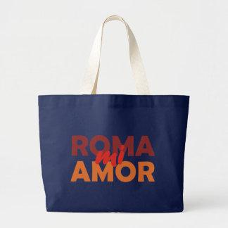 Roma mi amor Rome my love rome my love Canvas Bags