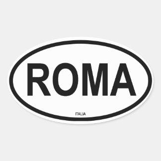ROMA OVAL STICKER