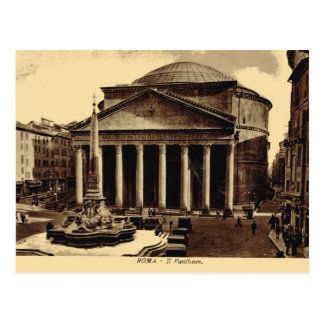 Roma, Pantheon Postcard