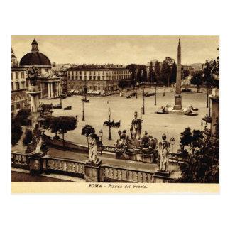 Roma,Piazza del Paulo Postcard