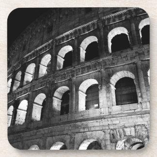 Roma Rome Italy Coliseum Colosseum Beverage Coasters
