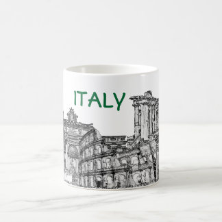 Roma, Rome... travel souvenir gifts Basic White Mug