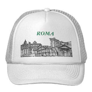 Roma, Rome... travel souvenir gifts Mesh Hats