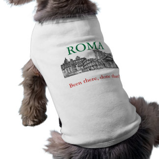 Roma, Rome... travel souvenir gifts Sleeveless Dog Shirt