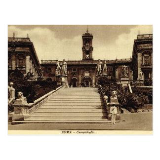 Roma,Steps to Campodoglio Postcard