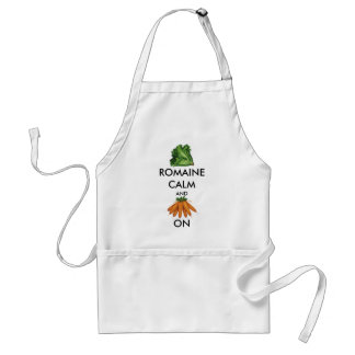 Romaine (Lettuce) Calm and Carrot On Standard Apron
