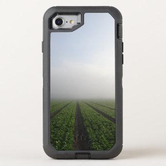 Romaine lettuce field foggy morning photo OtterBox defender iPhone 7 case