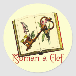 Roman a Clef Stickers