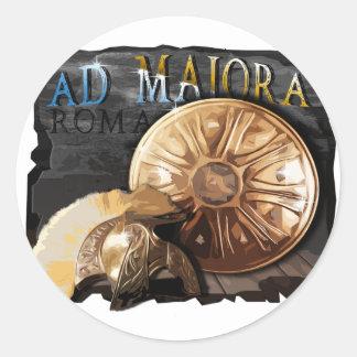 Roman Army - Legionary Classic Round Sticker