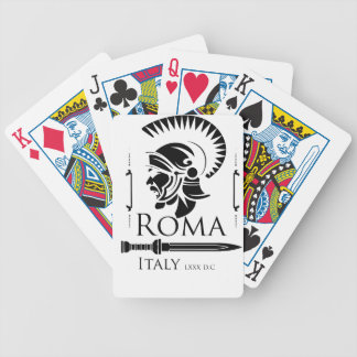 Roman Army - Legionary with Gladio Bicycle Playing Cards