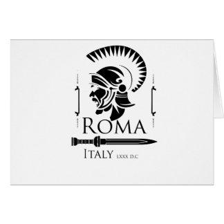 Roman Army - Legionary with Gladio Card