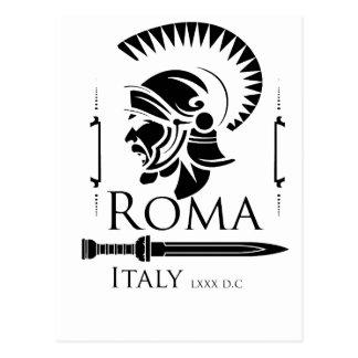 Roman Army - Legionary with Gladio Postcard