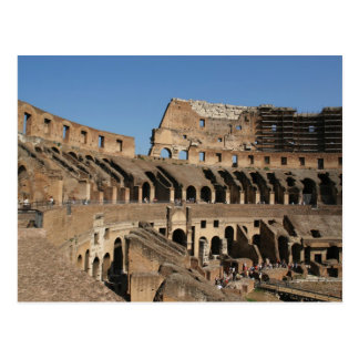 Roman Art. The Colosseum or Flavian 7 Postcard