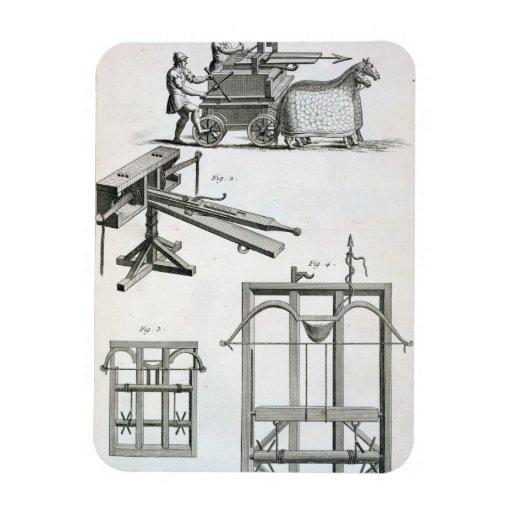 Roman Ballistic Machinery, from the 'Encyclopedie Vinyl Magnet
