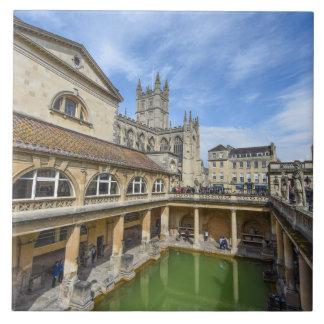 Roman Baths in Bath England Ceramic Tile