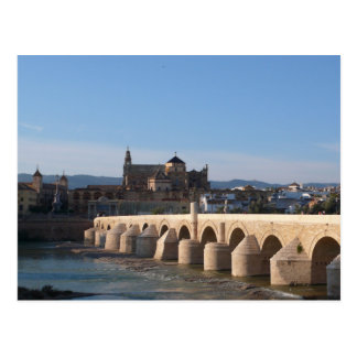 """Roman Bridge"" in Cordoba Postcard"