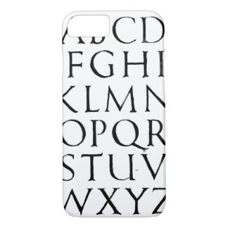Roman Capitals iPhone 8/7 Case