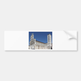 Roman Catholic basilica church Bumper Sticker