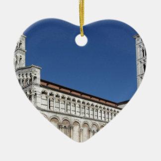 Roman Catholic basilica church Ceramic Heart Decoration