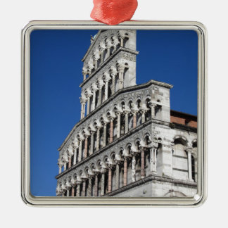 Roman Catholic basilica church in Lucca Metal Ornament