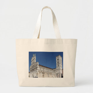 Roman Catholic basilica church Large Tote Bag