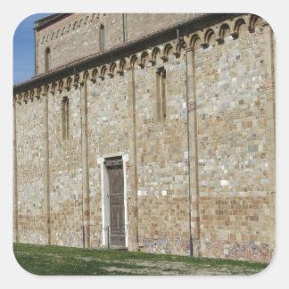 Roman Catholic basilica church of San Pietro Square Sticker