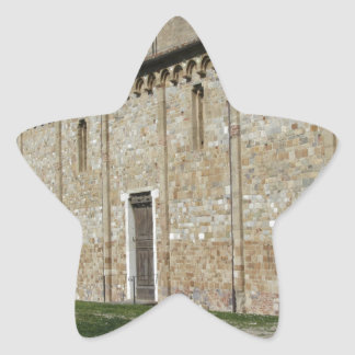 Roman Catholic basilica church of San Pietro Star Sticker