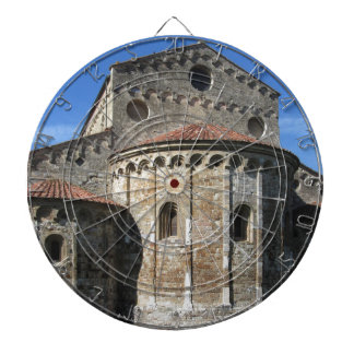 Roman Catholic basilica church San Pietro Apostolo Dartboard With Darts