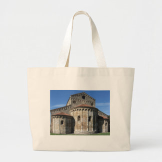 Roman Catholic basilica church San Pietro Apostolo Large Tote Bag