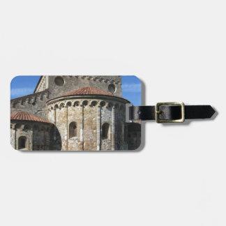 Roman Catholic basilica church San Pietro Apostolo Luggage Tag
