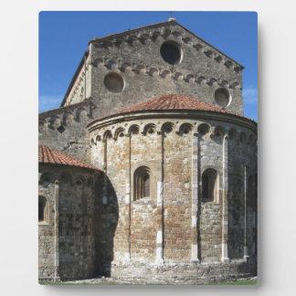 Roman Catholic basilica church San Pietro Apostolo Plaque