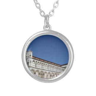 Roman Catholic basilica church Silver Plated Necklace