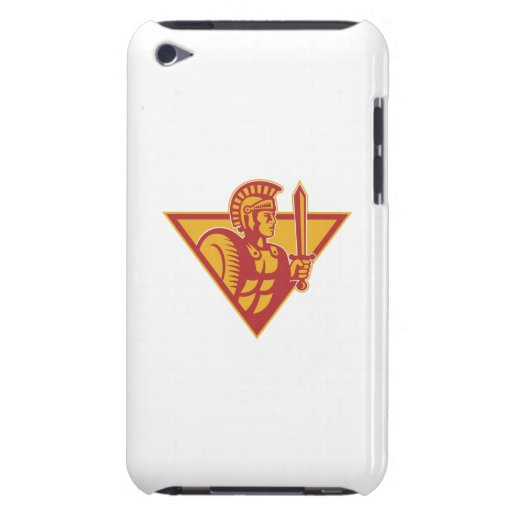 Roman Centurion Soldier With Sword And Shield Barely There iPod Covers