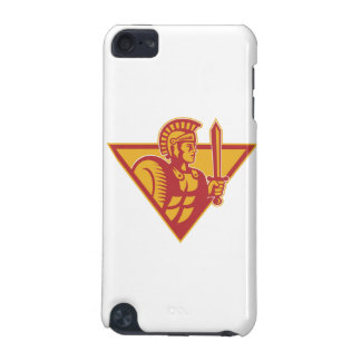 Roman Centurion Soldier With Sword And Shield iPod Touch (5th Generation) Case