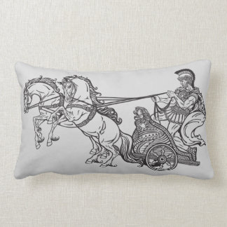 roman chariot cushion