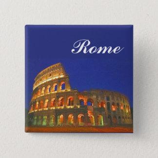 Roman Coliseum 15 Cm Square Badge