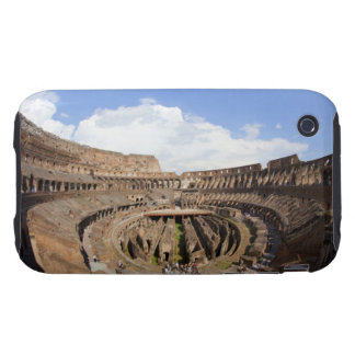Roman Coliseum, fish eye view Tough iPhone 3 Covers